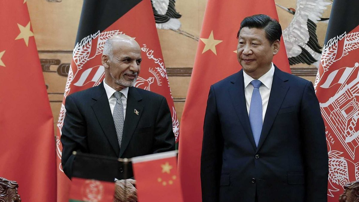 China in a Post-US Afghanistan