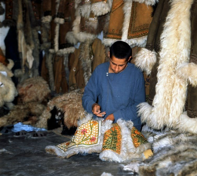 How 'Afghan' coats left Kabul for the fashion world and became a hippie must-have